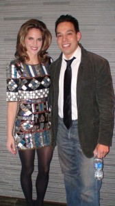 Jess with NBC TODAY Show Host Natalie Morales. New York 2010