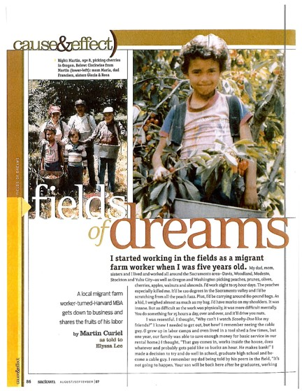 SacTown Mag, Rising Farmworkers Dream Fund